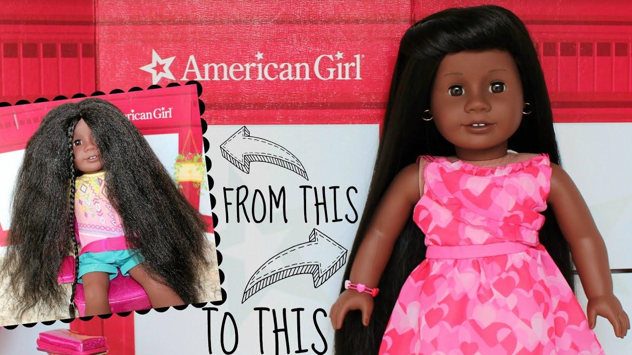 straighten american girl