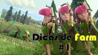 Clash of Clans - Dicas para Farm (Saque) #1