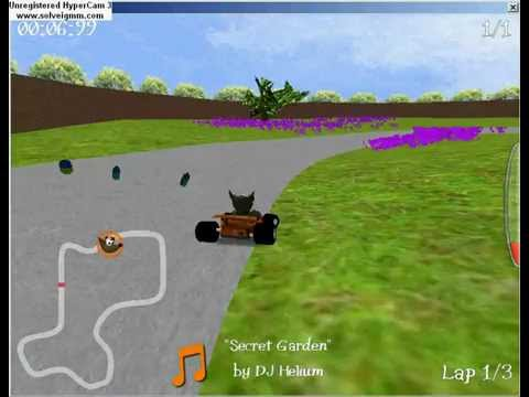 SupertuxKart 0.8- Peaceful Park
