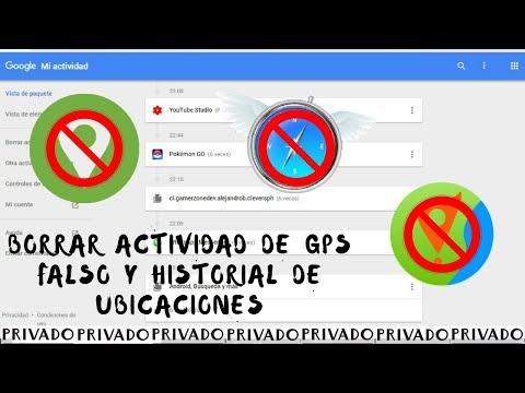 COMO BORRAR ACTIVIDAD DE GPS FALSO Y EL HISTORIAL DE UBICACIONES EN POKEMON GO  2018