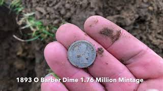 Back in Detroit Metal Detecting - My First Ever Standing Liberty