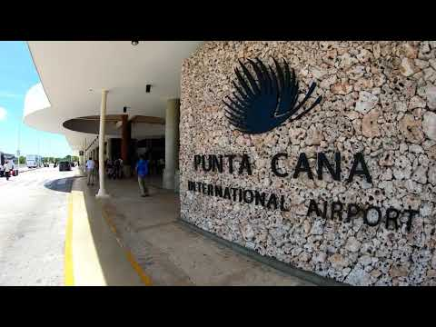 GATE TO PARADISE - PUNTA CANA AIRPORT 2019 4K