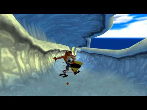 PCSX2: Crash Twinsanity HD - Slip Slide Icecapades! (720pHD/60FPS cutscenes)