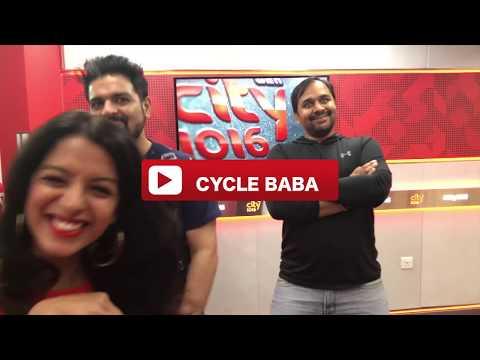 Cycle Baba world traveler With Radio City 1016FM Dubai II UAE