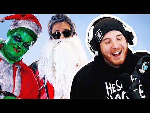 Unge REAGIERT auf Ju feat. Exsl Weihnachts Rap  | #ungeklickt