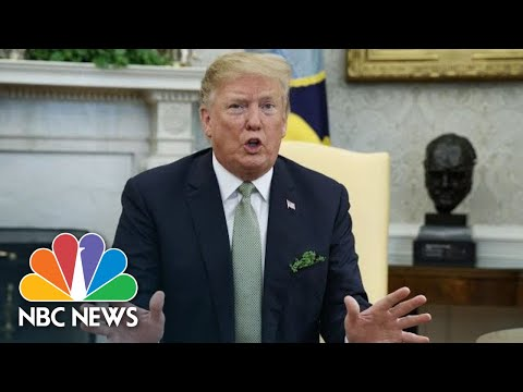 President Donald Trump On Beto O'Rourke: 'I've Never Seen Hand Movement Like That'| NBC News