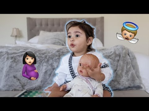 ELLE WANTS A BABY BROTHER!!! (ADORABLE)