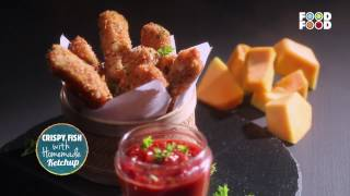 Mummy Ka Magic | Crispy fish With Homemade Ketchup | Amrita Raichand