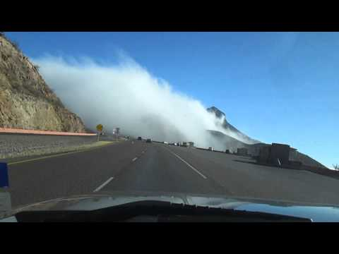 El Paso TX  TRANSMOUNTAIN -FOG part 1
