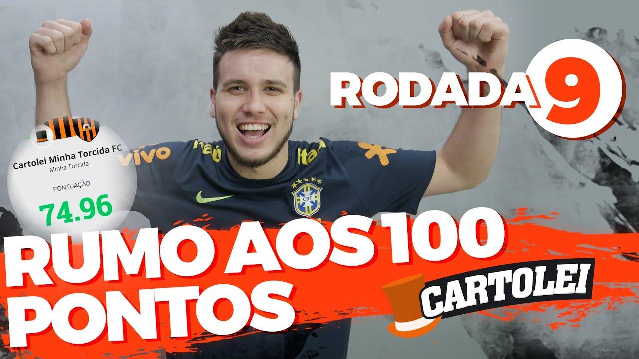 RUMO aos 100 PONTOS do Cartola FC 2020 - DICAS RODADA 9 | CARTOLEI