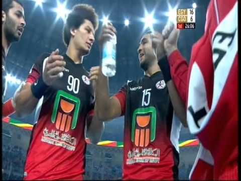 Egypt vs Kongo - 22nd African Men's Handball Championship