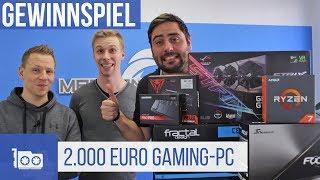Fractal Design Define R6 Silent Gaming-PC im Wert von 2.000 Euro (Gewinnspiel)