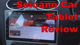 Seicane Dash Tablet 10.1 Inch Review: Bluudys Garage