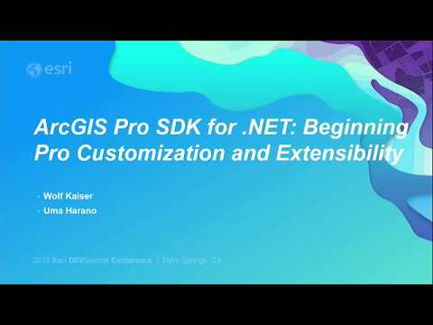 ArcGIS Pro SDK for .NET: Beginning Pro Customization and Extensibility