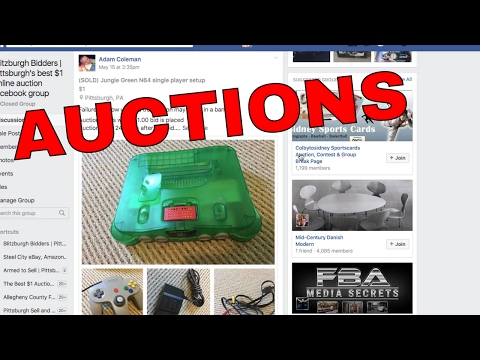 HOW TO BID ON Blitzburgh Bidders  | Pittsburgh's 24 hour dollar online auction facebook group,
