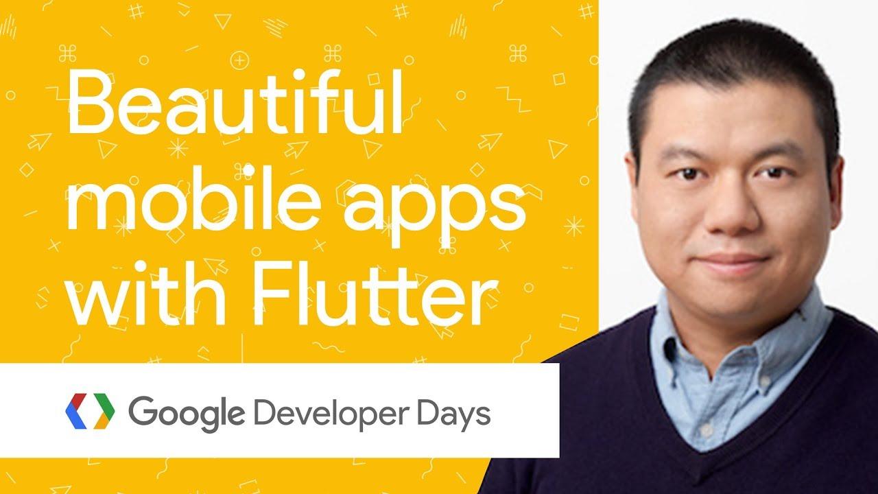 使用 Flutter 快速构建美观的移动应用 (GDD China '17)