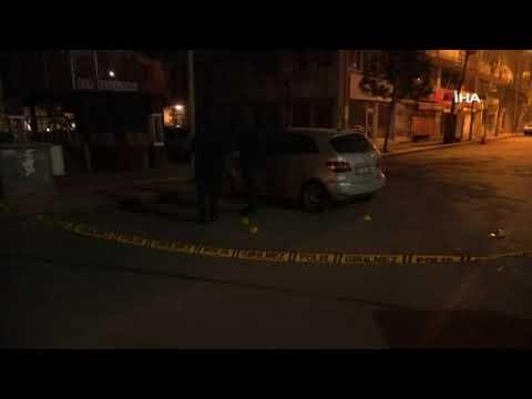 Sokak ortasında tartışan gruba ticari araçtan silahlı saldırı: 2 yaralı