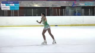 Юношеские соревнования по фигурному катанию на коньках Новогодняя сказка День 1