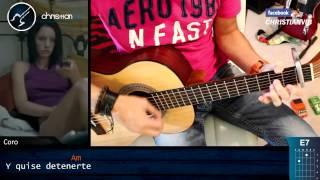 Me Dedique A Perderte ALEJANDRO FERNANDEZ Acustico Guitarra Tutorial Demo Christianvib