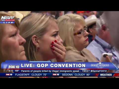 EMOTIONAL: Father of Jamiel Shaw, Black Man Killed by Illegal Immigrant, at GOP Convention - FNN