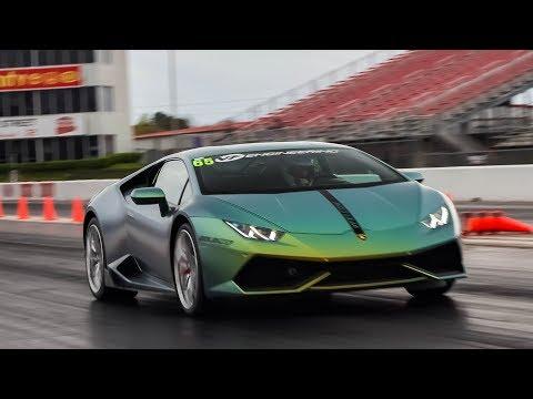 Day 1 of TX2K18 - INSANE Turbo Lamborghinis Set TX2K RECORDS in Roll Races!