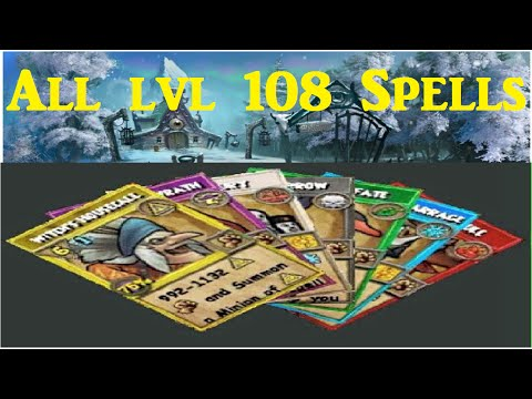 Wizard101: All The Level 108 Spells