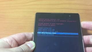 Factory Reset da Recovery Asus ZenPad C 7