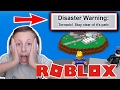 Roblox Natural Disaster Survival | Funny Moments | I Need to Pay More Attention