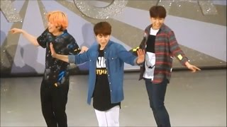 When Super Junior fails to recognize their own songs! ¡DanceKyu no ...