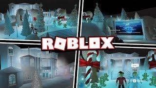 ICE QUEEN'S WINTER CASTLE!!! | Subscriber Tours (Roblox Bloxburg)