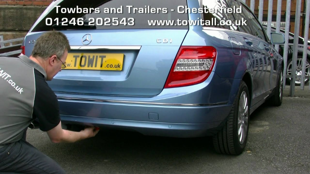 towbar video mercedes c class westfalia detachable youtube rh youtube com mercedes c class tow bar wiring instructions mercedes c class tow bar wiring instructions