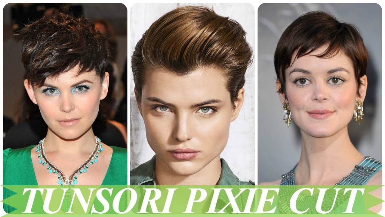 Modele De Tunsori Pixie Cut 2018 Youtube