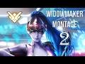 Overwatch - Widowmaker Trickshot Montage 2  (Best Plays)