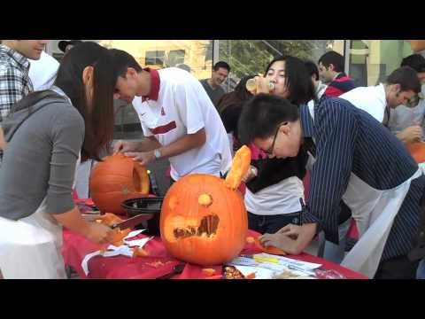 Pumpkin Carving Contest sponsored by EE