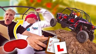 EXTREME BLINDFOLDED DRIVING CHALLENGE!!