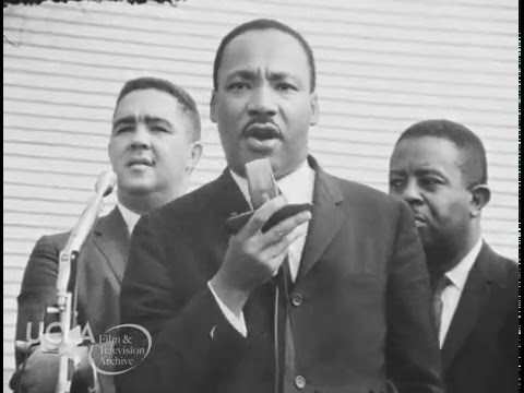 Dr. King and Mayor Daley Press Conference. July 1966.