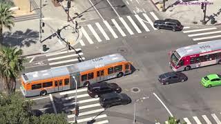 Buses in Los Angeles, California 2018