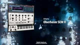 Synthesizer OBERHEIM SEM V - Factory patches created for Arturia