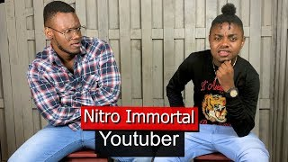 Nitro Immortal Reacts To Rygin King Comparisons, Talks Job Interview Videos & What's NEXT..