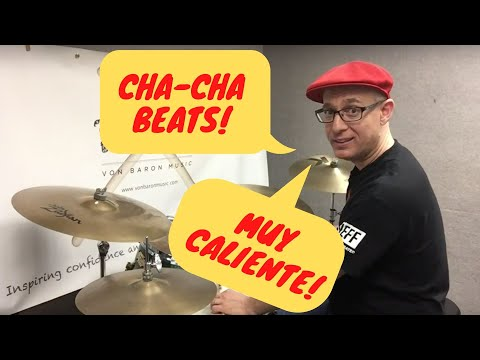 D4L  Video Drum Lesson #45 (The Basic Cha-Cha Beats)