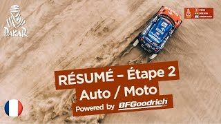 Résumé - Auto/Moto - Étape 2 (Pisco / Pisco) - Dakar 2018