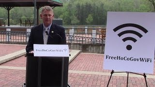 Howard County Expands Free Outdoor WiFi to Downtown Columbia Lakefront