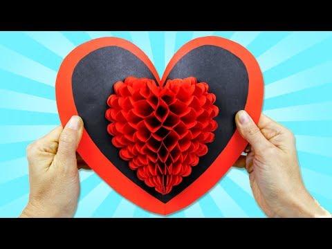 Открытка своими руками на 8 марта ❤️ Подарок для Мамы объемная открытка 3Д