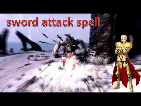 ゲートオブバビロン - sword attack spell | Skyrim MOD