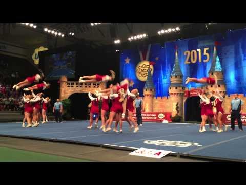 2015 University Of Alabama ALL-GIRL Winning Performance National Cheerleading Championship