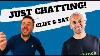 Just Chatting Cliff and Sat! - Lean Lunch