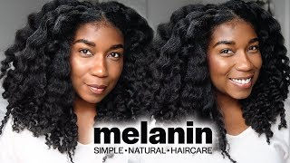 MY NEW PRODUCT LINE!! The TEA on Melanin Haircare by Naptural85