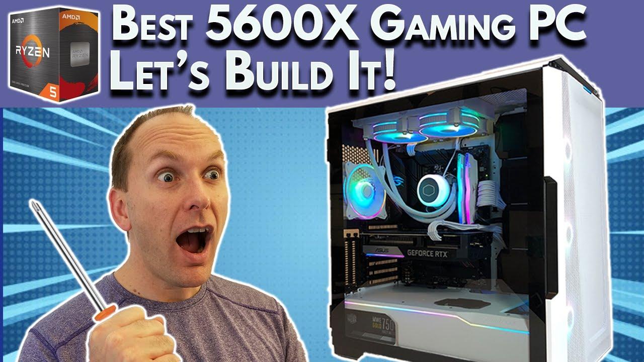 🔧Let's Build It🔧 AMD Ryzen 5 5600x Build (Gaming)   [IN STOCK] $1500 Gaming PC Build