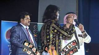 Bollywood Singer SAHEB KHAN with Shaikh Fuad(Saudi Lyricist & Famous Poet)