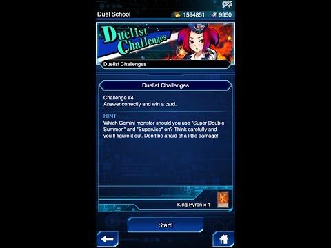 Yugioh Duel Links - Duelist Challenge #4 (New Event)